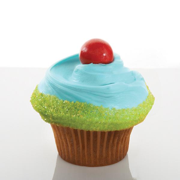 Casey's Cupcakes - Beach Boy Cupcake