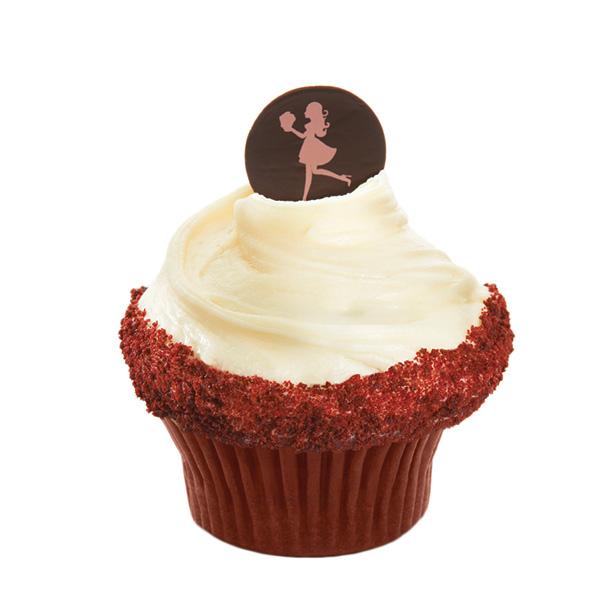 Caseys Cupcakes - Rockin Red Velvet Cupcake