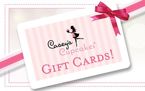 Caseys Cupcakes Giftcards